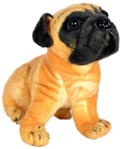 Deals India Pug Dog Stuffed Animal  - 40 cm