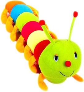 S S Mart Cute Colorful Caterpillar  - 55 cm