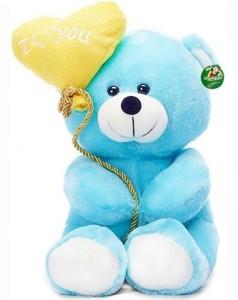 MGPLifestyle I Love You Ballon Heart Teddy Bear Blue (18 CM)  - 7 cm
