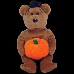 Ty Beanie Babies Hocus Halloween Bear