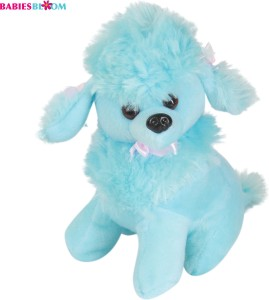 Babies Bloom Candy Blue Kawaii Poodle Dog Puppy Stuffed Plush Dog Toy  - 20 cm
