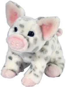 Douglas Cuddle Toys Pauline Spotted Pig (Small)