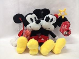 Galerie Disney Plush Mickey & Minnie Mouse With Milk Chocolate