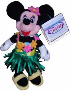 Disney Minnie Hula Dancer Mini Bean Bag Plush