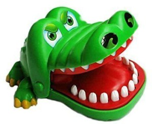 Emotionlin Crocodile Tooth Bite Finger Classic Game Toys  - 15 inch