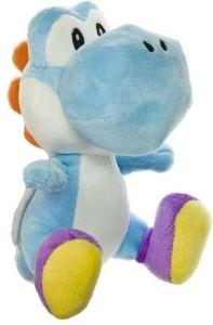 Little Buddy Toys Nintendo Official Super Mario Light Blue Yoshi Plush6