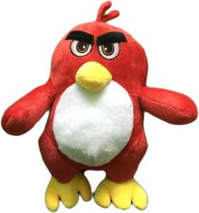 Cuddles Plush Angry bird red  - 22 cm