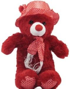 Cuddles Hat Teddy  - 12 inch