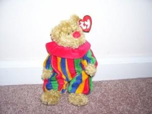 TY Beanie Babies 1 X Attic Treasures Piccadilly Bear