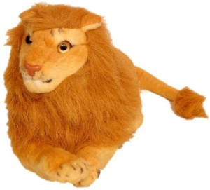 Homeshopeez Soft Toy Lion  - 24 cm