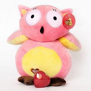 My Baby's Heartbeat Bear Pink Owl Heartbeat Bear Kit