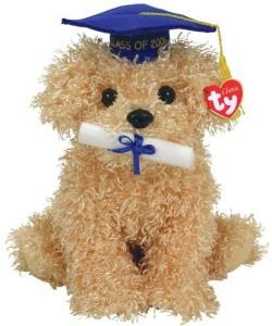Ty Diploma Graduation Dog