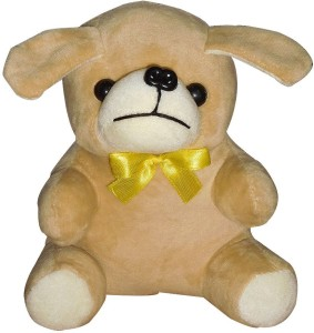 Siddhi Gifts soft toys for girls - Puppy (Dog)  - 15 cm