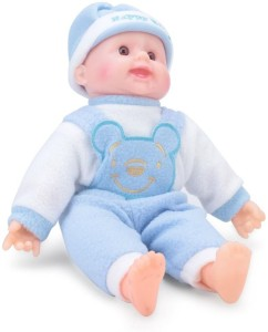 A M Enterprises Laughing Stuffed Soft Baby Toy  - 20 cm