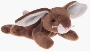 TY Beanie Babies Ears The Rabbit Mwmt