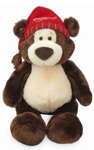 Gund 2010 Amazon Exclusive Limited Edition Brown And Cream Bear