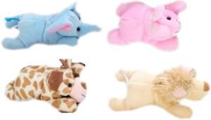 Skylofts Cute Plush Fridge Magnet Puppet Toys for kids  - 13 cm