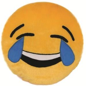 Skylofts Laughing Emoji Stuffed Smiley Pillow Cushion  - 35 cm
