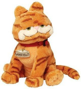 Ty Beanie Ba Garfield The Cat ( Garfield Movie Beanie )