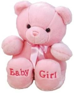 Aurora Plush Ba 18 Inches Comfy Pink Ba Girl Bear