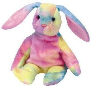 Ty Beanie Babies Hippie Dye Bunny