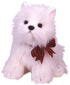 Classics Ty Classic Plush Macdougal The White Dog