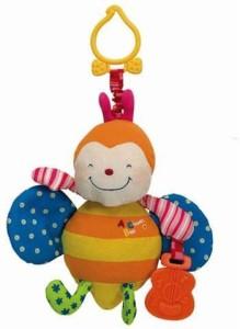 K's Kids Funky Stroller Pals Rattling  - 22.9 cm