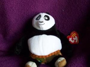 Ty Beanie Ba Po The Panda (Dvd Exclusive Kung Fu Panda)