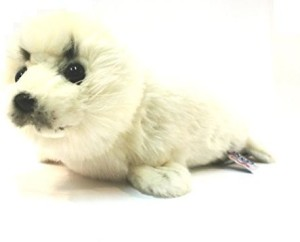 Hansa Seal White Lying 12