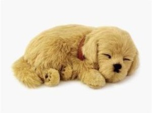 Gifts and Gadgets Online Perfect Petzzz Golden Retriever Plush Breathable Dog
