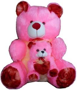 MYBUDDY Teddy With Baby  - 62 cm