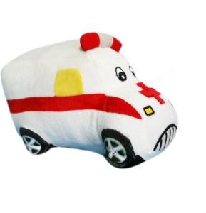 Soft Buddies Plush Toy Ambulance  - 4 inch
