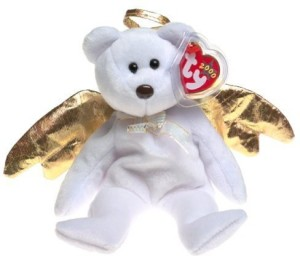 ef25ece1e64 TY Beanie Babies Halo Ii The Bear White Best Price in India
