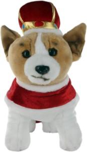 Hamleys Royal Corgi Soft Toy  - 11.8 inch