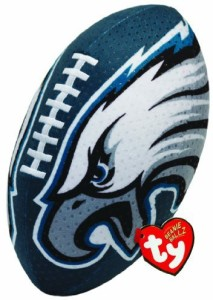 more photos a8bf2 031b2 TY Beanie Babies Nfl Rz Philadelphia Eagles Football Plush ...