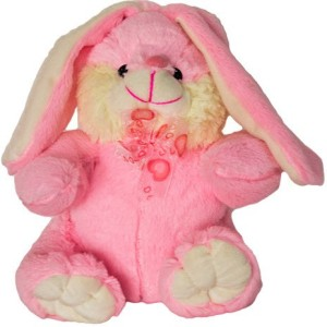 Tiny Tickle Cute Pink Rabbit Premium Soft Toys for Kids  - 30