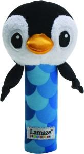 Lamaze Contrast Bend & Squeak Penguin Toy