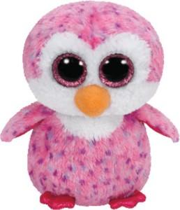 Jungly World Glider-Pink Penguin Reg  - 6 inch