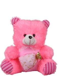 Deals India Deals India Pink Potli teddy Stuffed soft plush toy Love Girl - 45cm  - 45 cm