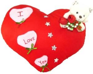 Tickles I Love You Heart Cushion  - 35 cm