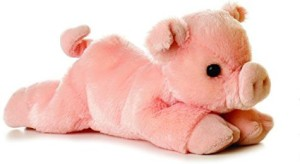 Aurora Percy Pig Mini Flopsie 8
