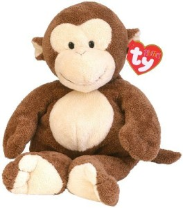Ty Pluffies Dangles Monkey