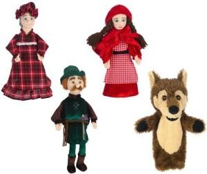 FAO Schwarz Hand Puppets Little Red Riding Hood
