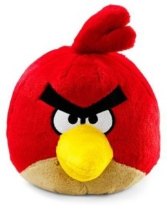 Angry Birds Plush 8Inch Red Bird With Sound