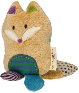 Natural Life Baby Mary Meyer Animal Plush Rattle, Love You Forever Fox  - 15 inch
