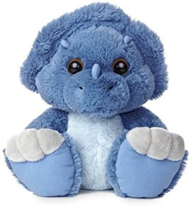 Aurora World Taddle Toes Toughie Triceratops Plush  - 20 inch
