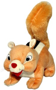 JRP Mart Brown Squirrel Stuffed  - 30 cm