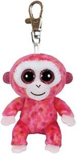 Ty Beanie Boos Ruby - Red Monkey Clip  - 25 inch