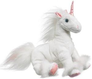 Wildlife Artists Unicorn Plush White