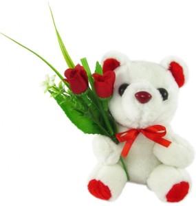 Tickles Bouquet Teddy  - 6 inch